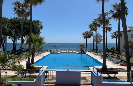 luxury apartment front line beach spain